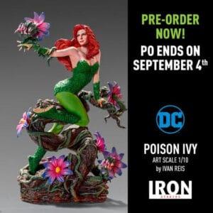 IRON STUDIOS Poison Ivy Art Scale 1/10 - DC Comics by Ivan Reis PRE VENTA