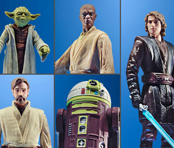 HASBRO Star Wars Celebrate the Saga Jedi Order Pack of 5 PRE VENTA