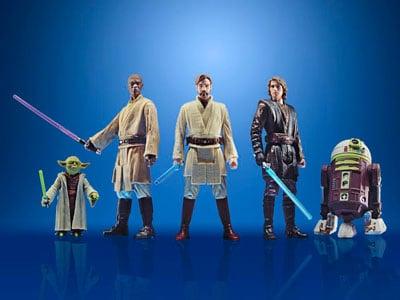 HASBRO Star Wars Celebrate the Saga Jedi Order Pack of 5 PRE VENTA