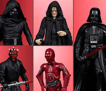 "Star Wars Celebrate the Saga Sith 3.75"" Pack of 5 Figures"