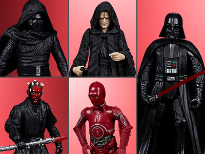 """Star Wars Celebrate the Saga Sith 3.75"""" Pack of 5 Figures"""