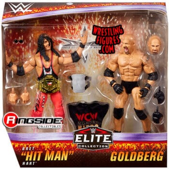WWE Elite Collection Goldberg & Bret Hart