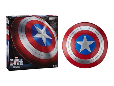 Características del producto 24 pulgadas (60,96 cm) de diámetro Escala 1/1 Inspirado en el escudo que aparece en The Falcon and The Winter Soldier Parte de la serie Marvel Legends Cuenta con correas ajustables para permitir llevar el escudo como el Capitán América.