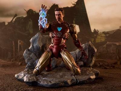 Avengers: Endgame S.H.Figuarts Iron Man Mark LXXXV (I Am Iron Man Edition) Exclusive