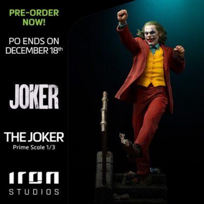 IRON STUDIOS The Joker 1/3 Prime Scale PRE VENTA