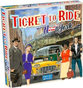 5. TICKET TO RIDE: NEW YORK