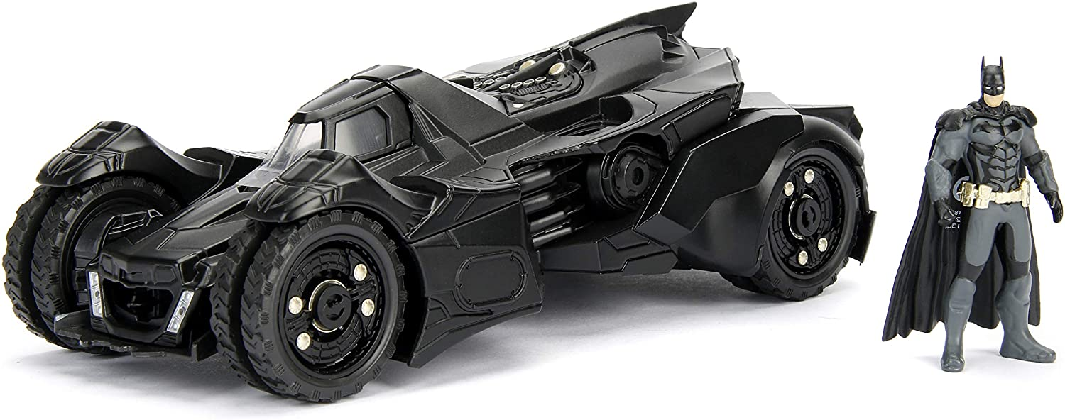 DC Comics Batman 2015 Arkham Knight Batmobile & Batman