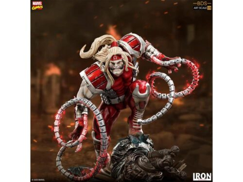 IRON STUDIOS X-Men Battle Diorama Series Omega Red 1/10 Art Scale Statue PRE VENTA
