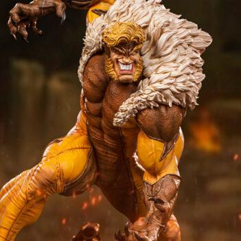 IRON STUDIOS X-Men Battle Diorama Series Sabretooth 1/10 Art Scale Statue PRE VENTA