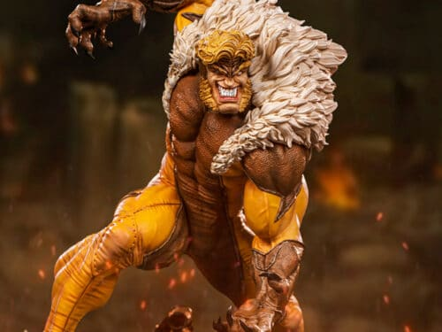 IRON STUDIOS X-Men Battle Diorama Series Sabretooth 1/10 Art Scale Statue PRE VENTA