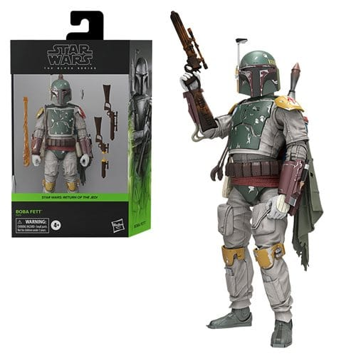 "HASBRO Star Wars: The Black Series 6"" Deluxe Boba Fett (Return of the Jedi) PRE VENTA"