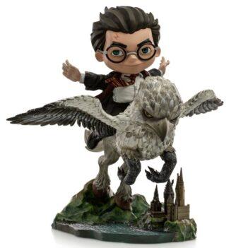 IRON STUDIOS Harry Potter Mini Co. Harry & Buckbeak PRE VENTA