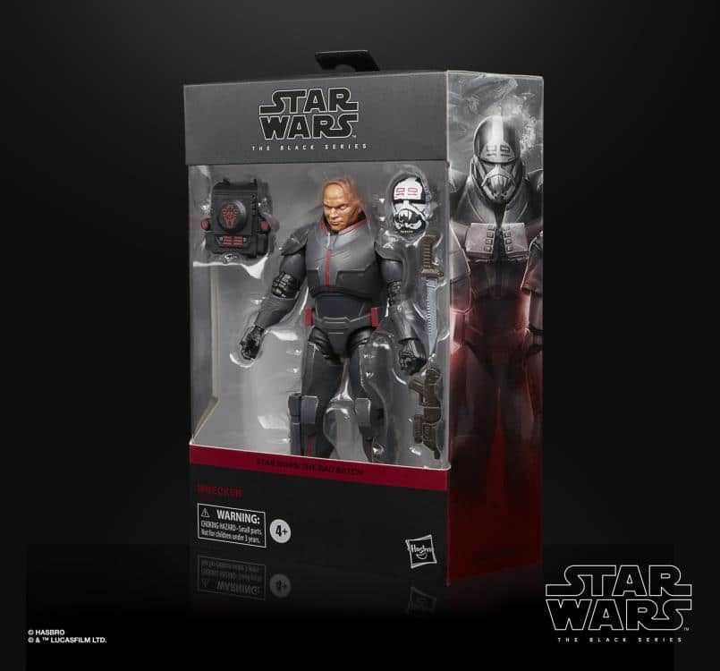 "Star Wars: The Black Series 6"" Deluxe Wrecker (The Bad Batch)"