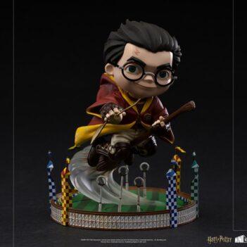 IRON STUDIOS Harry Potter Mini Co. Harry Potter at the Quidditch Match PRE VENTA