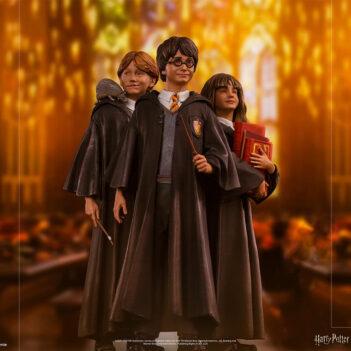 IRON STUDIOS Harry Potter - Harry, Ron, Hermione Art Scale 1/10 PRE VENTA